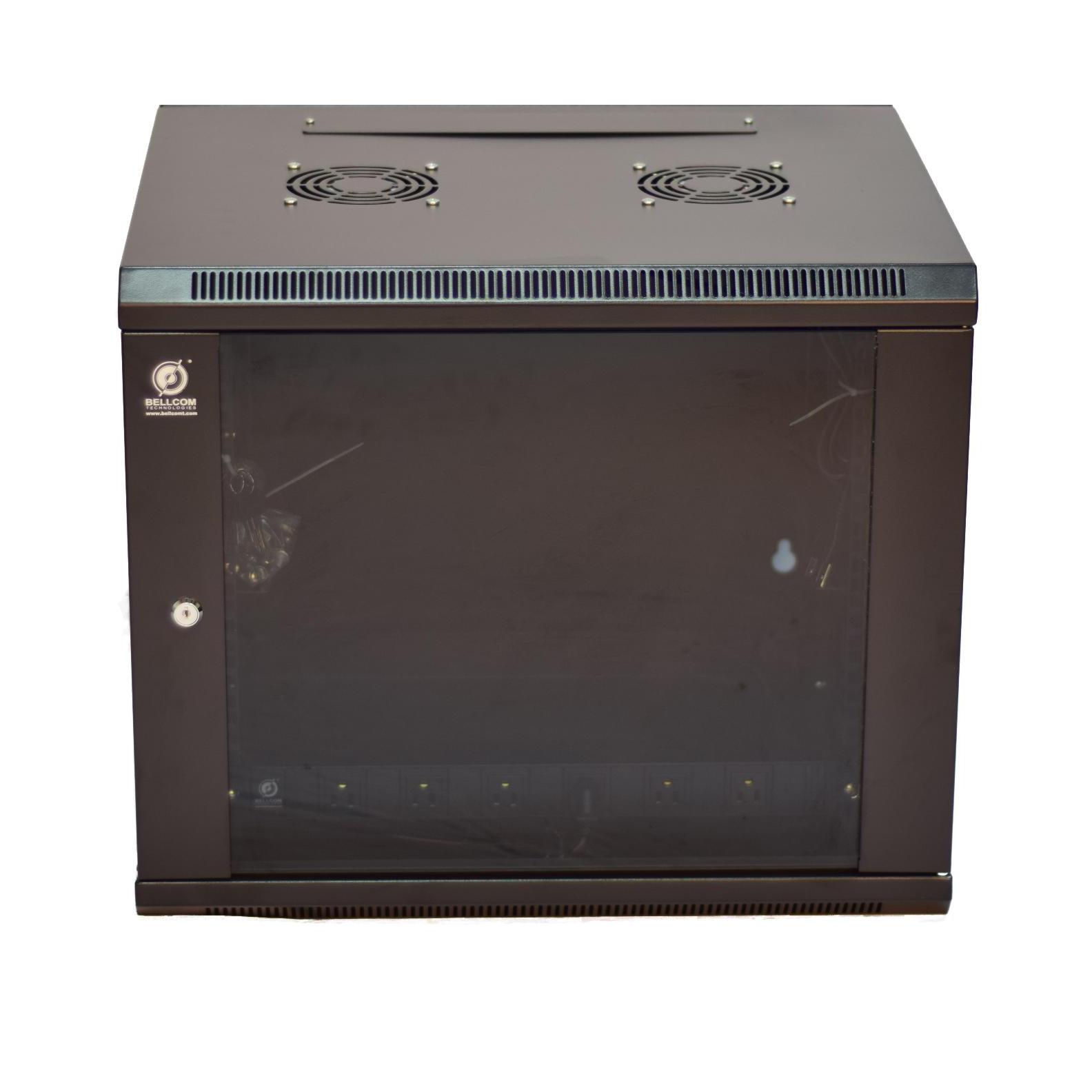 jakarta wallmount hagane server depth cabinet network rack product single glass